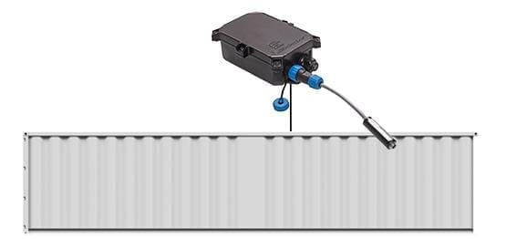 wireless temperature monitoring device for reefer containers