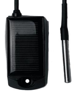 solar wireless temperature sensor