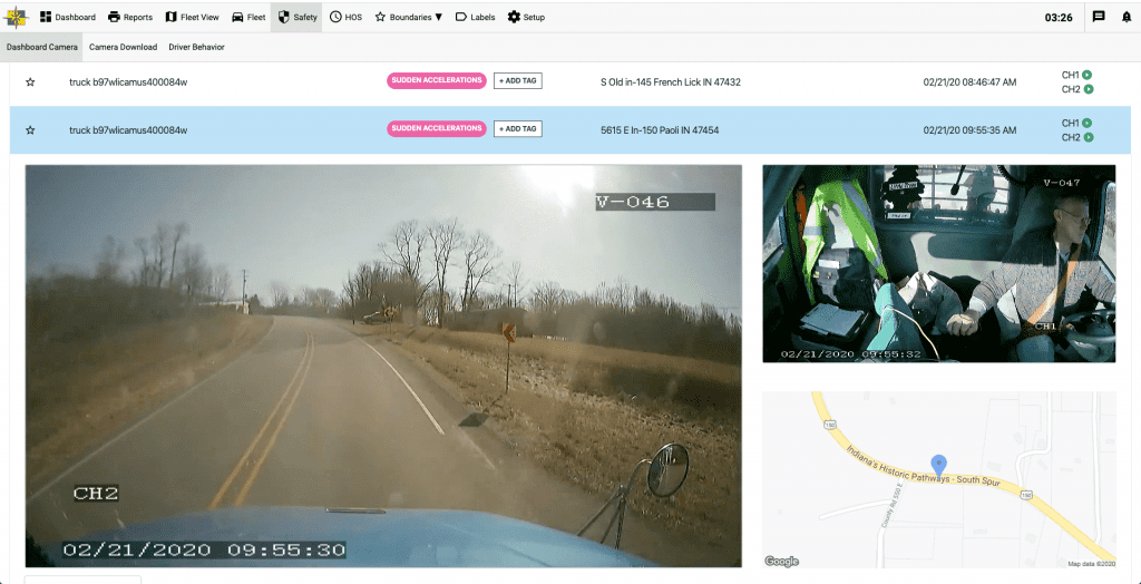 One integrated Platform for dashcams & fleet management