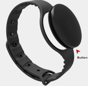 Wearable RFID Bracelet For automatic temperature check for COVID-19 detection