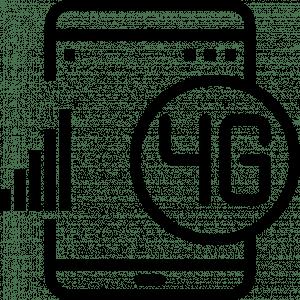 4G LTE cellular connection