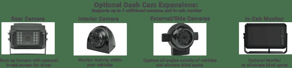 Wireless fleet dashcam expansions