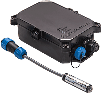 Piccolo hybrid gps tracking for trailers with temperature monitoring