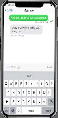 tool tracking via app